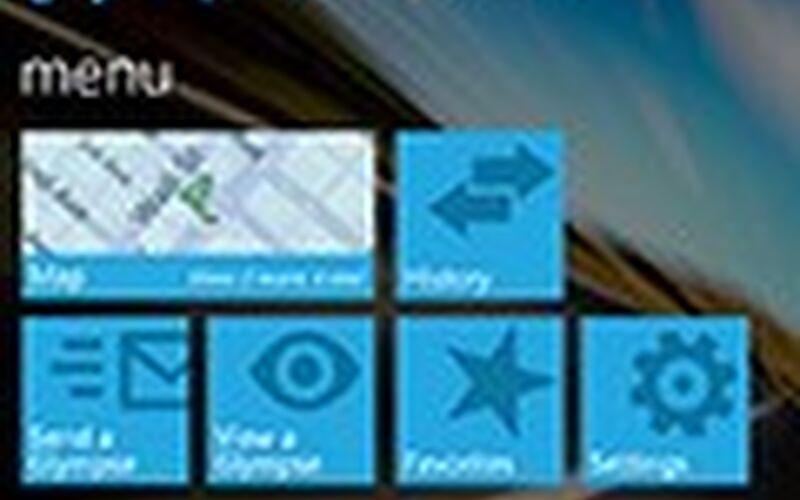 Скриншот 1 программы Glympse