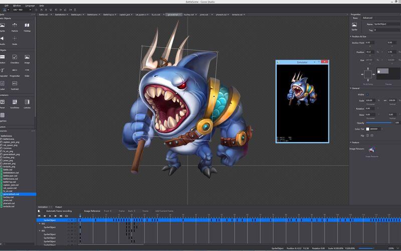 Скриншот 1 программы Cocos2d-x