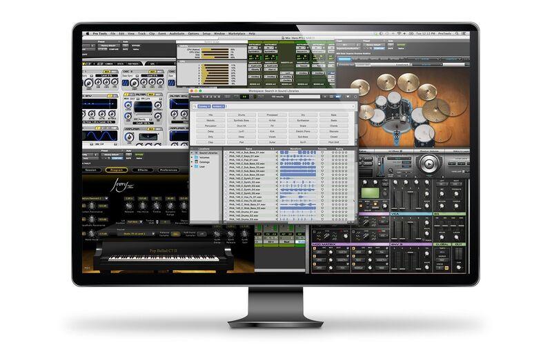 Скриншот 1 программы Avid Pro Tools