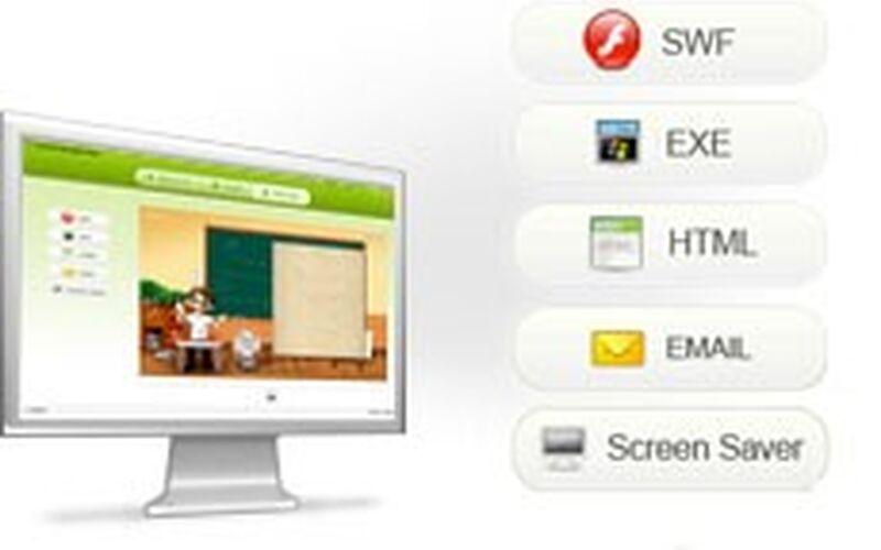 Скриншот 1 программы Kvisoft FlipBook Maker