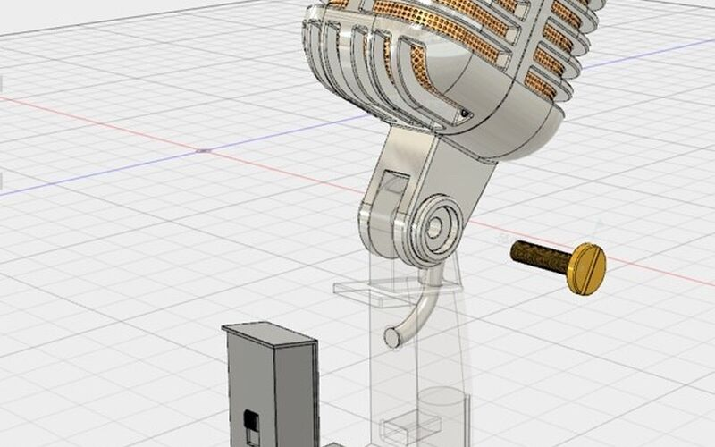 Скриншот 1 программы Autodesk Fusion 360