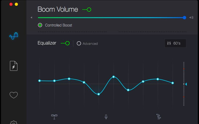 Скриншот 1 программы Boom 2