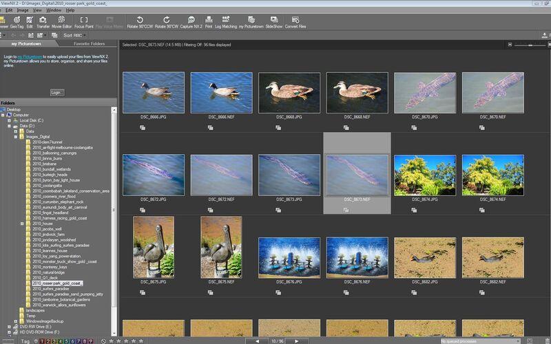 Скриншот 1 программы ViewNX-i
