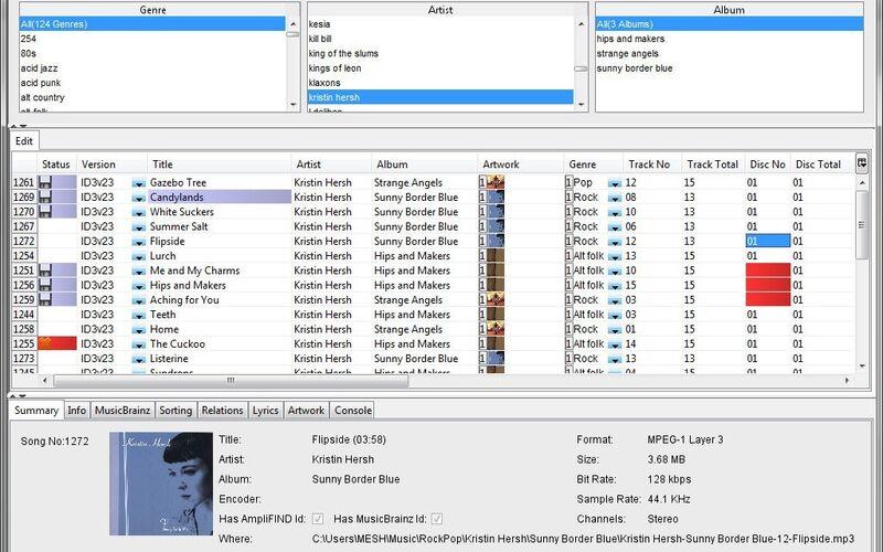 Скриншот 1 программы Jaikoz