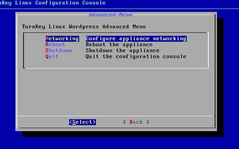 Скриншот 1 программы Turnkey Linux