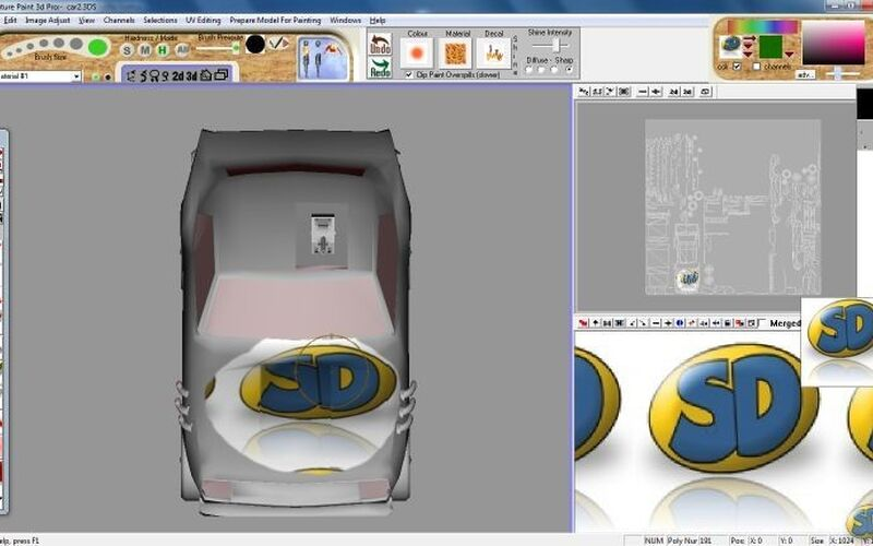 Скриншот 1 программы Future Paint 3d