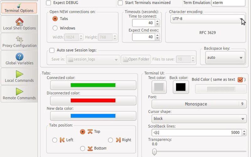 Скриншот 1 программы PAC Manager