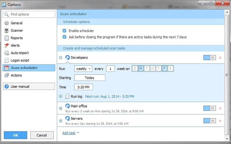 Скриншот 1 программы Total Network Inventory