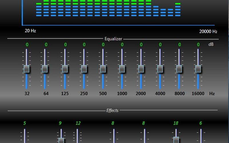 Скриншот 1 программы ProfoundSound CSharp