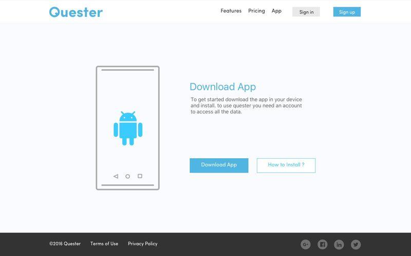 Скриншот 1 программы Quester