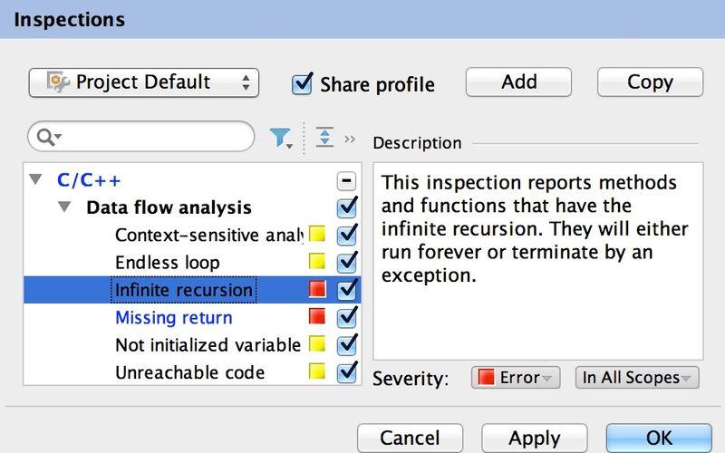 Скриншот 1 программы CLion