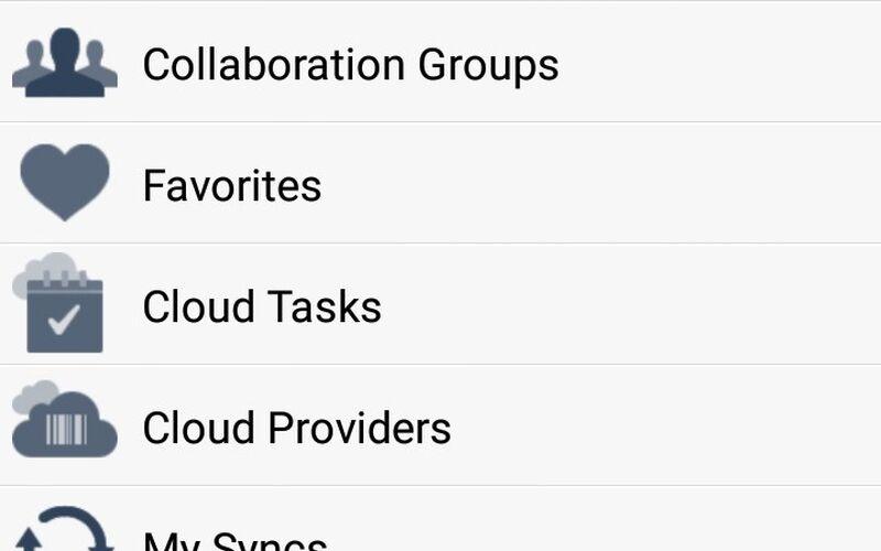 Скриншот 1 программы Storage Made Easy