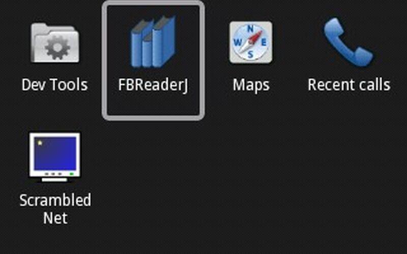 Скриншот 1 программы FBReader