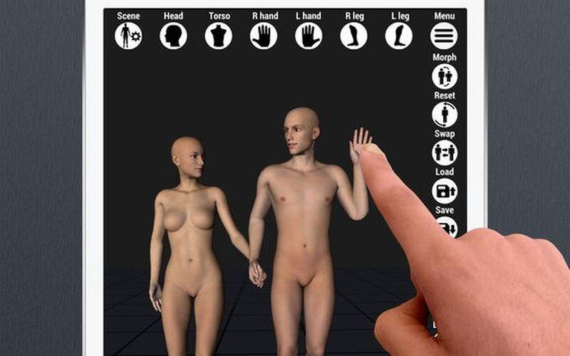 Скриншот 1 программы Art Model - 3D Pose tool