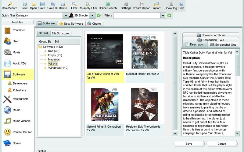Скриншот 1 программы Data Crow