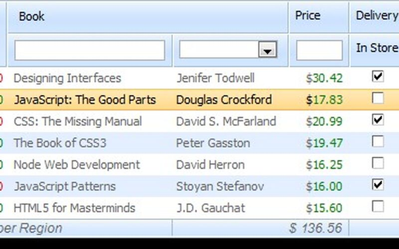 Скриншот 1 программы DHTMLX