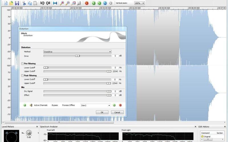 Скриншот 1 программы Nero WaveEditor