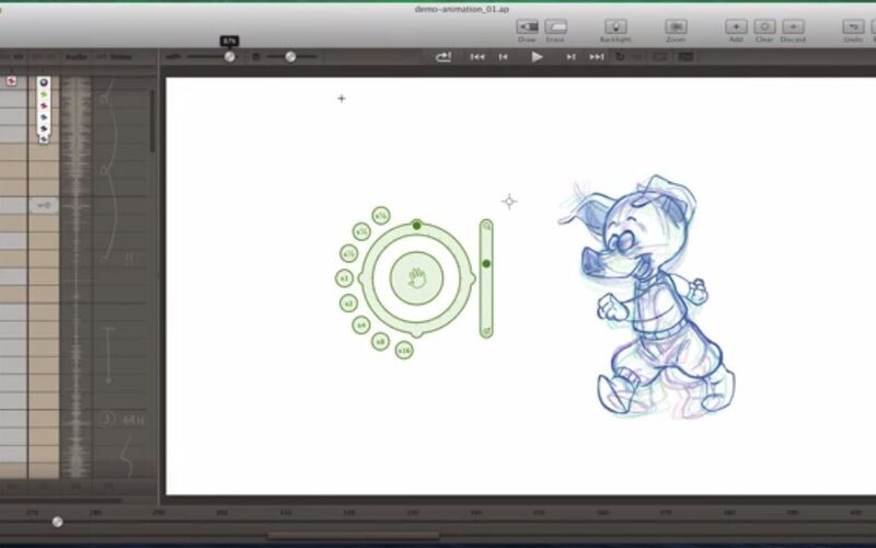Скриншот 1 программы Animation Paper