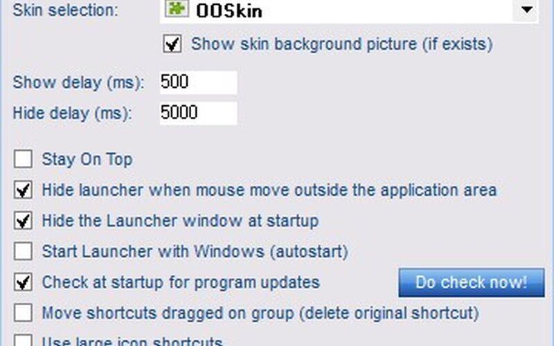 Скриншот 1 программы FSL Launcher