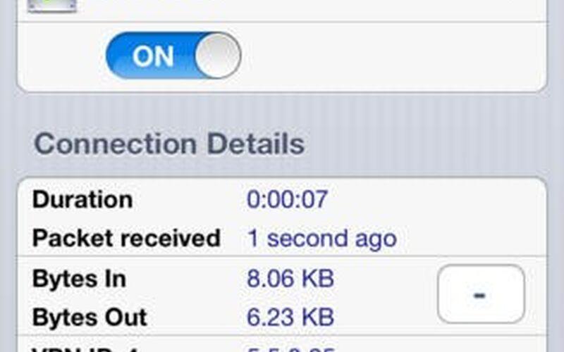 Скриншот 1 программы OpenVPN