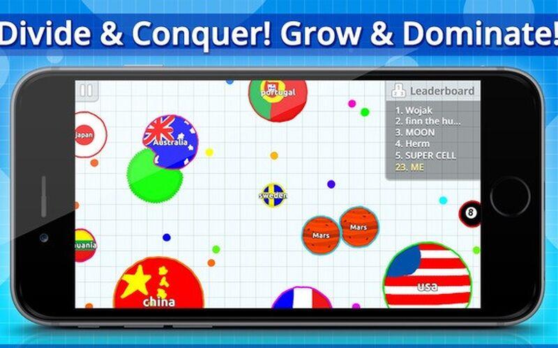 Скриншот 1 программы Agar.io