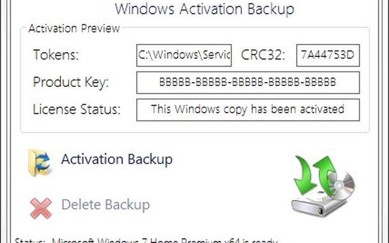 Скриншот 1 программы Advanced Tokens Manager