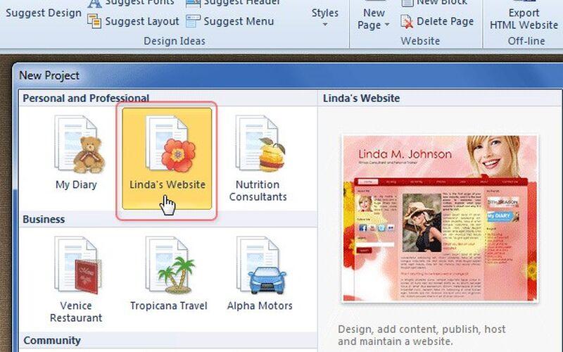 Скриншот 1 программы Artisteer
