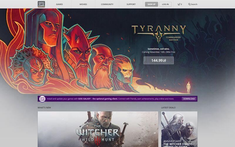 Скриншот 1 программы GOG.com
