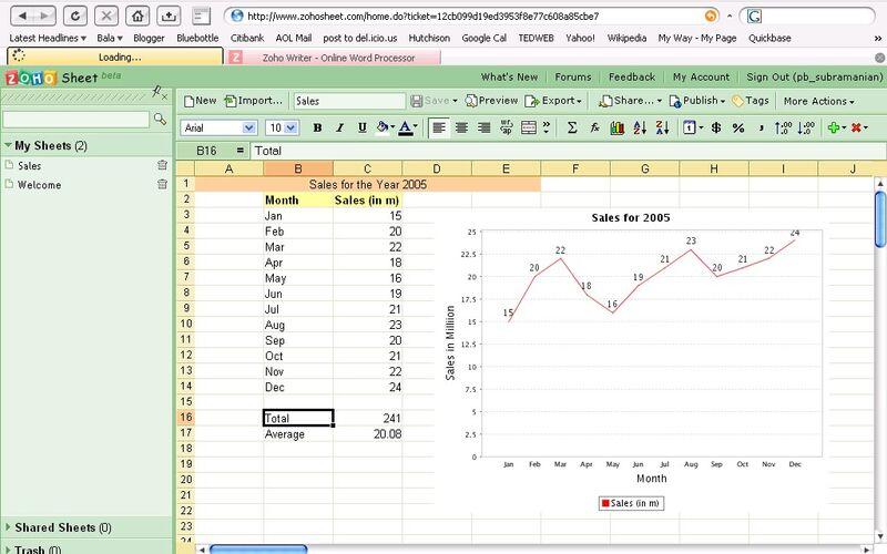 Скриншот 1 программы Zoho