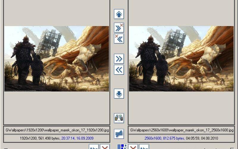 Скриншот 1 программы ImageDupeless