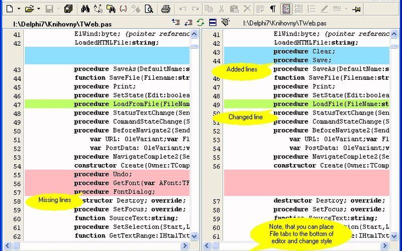 Скриншот 1 программы PSPad