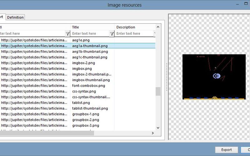 Скриншот 1 программы WebCopy