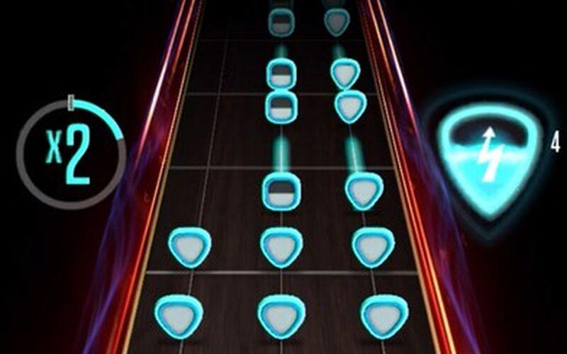 Скриншот 1 программы Guitar Hero
