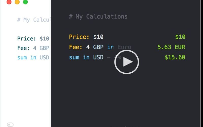 Скриншот 1 программы Numi