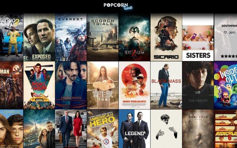 Скриншот 1 программы popcorn-time.se