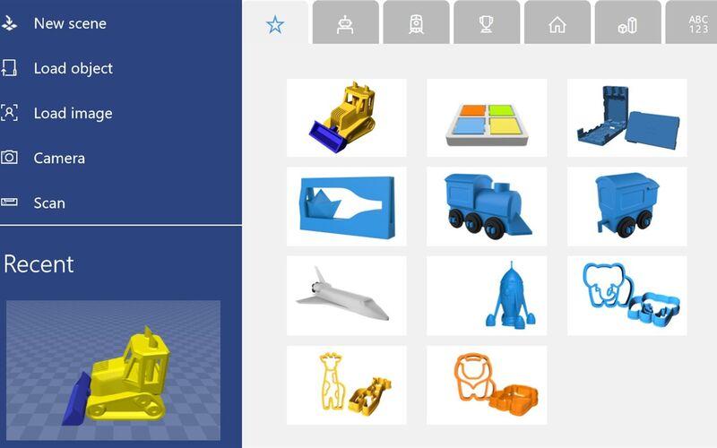 Скриншот 1 программы Microsoft 3D Builder