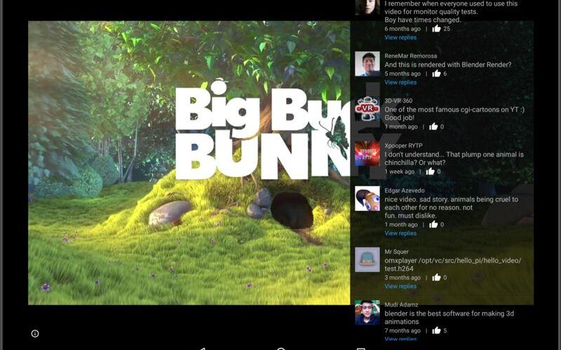 Скриншот 1 программы SkyTube