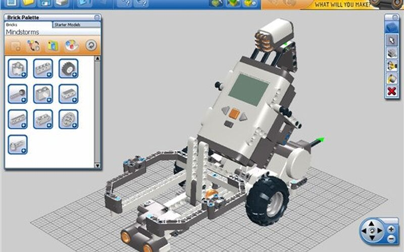 Скриншот 1 программы LEGO Digital Designer