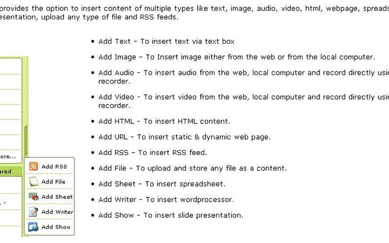 Скриншот 1 программы Zoho Notebook