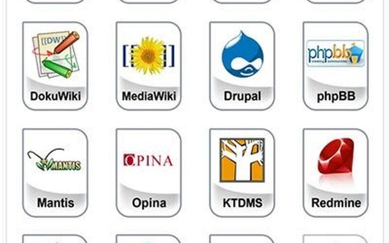 Скриншот 1 программы BitNami Application Stacks