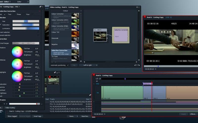 Скриншот 1 программы Lightworks