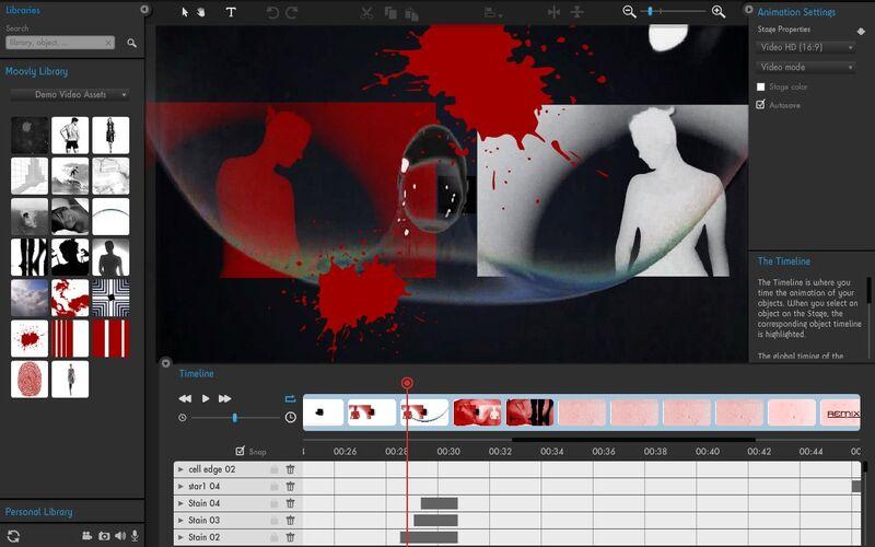 Скриншот 1 программы Moovly