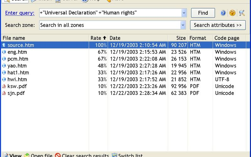 Скриншот 1 программы Archivarius 3000
