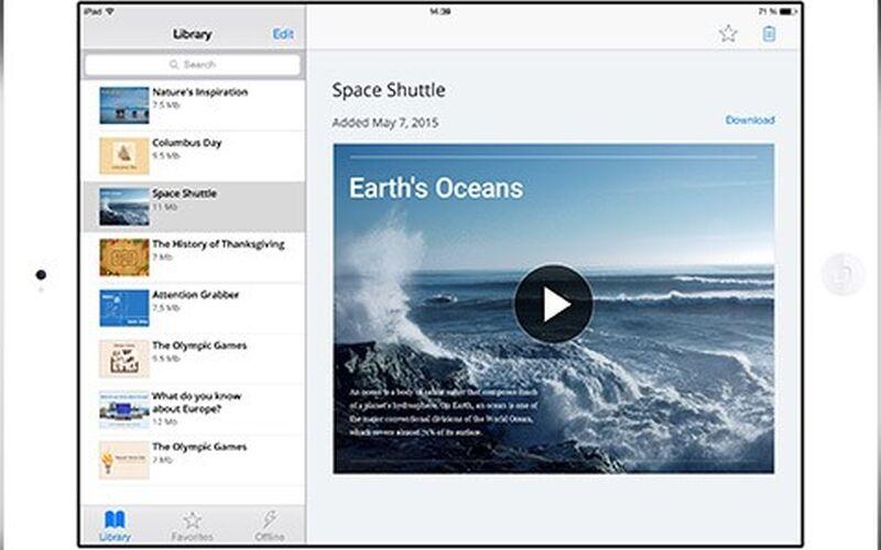 Скриншот 1 программы iSpring Suite