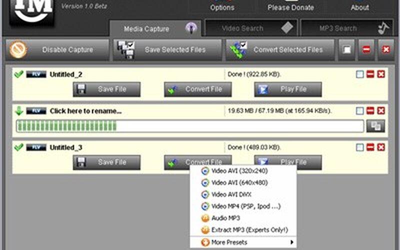 Скриншот 1 программы TubeMaster++