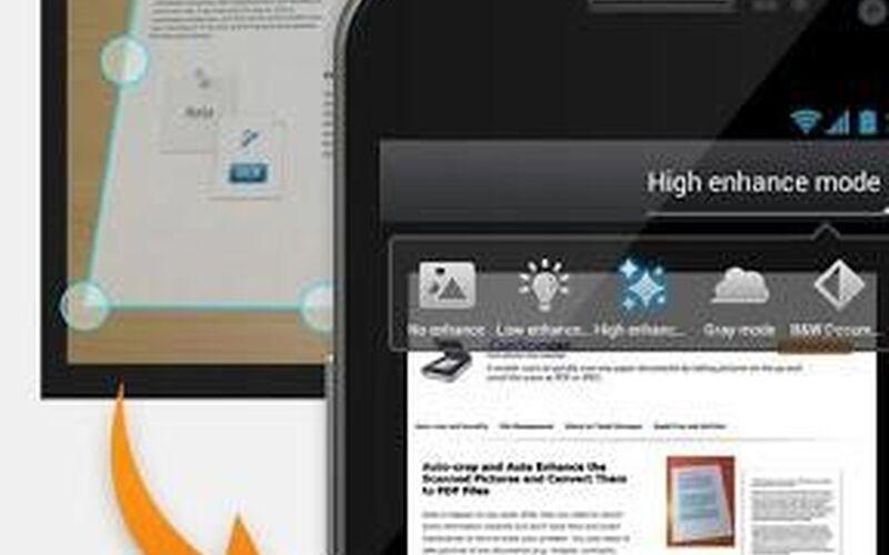 Скриншот 1 программы CamScanner