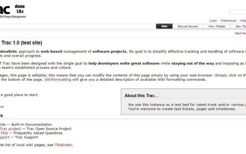 Скриншот 1 программы Trac