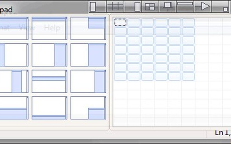 Скриншот 1 программы Chameleon Window Manager