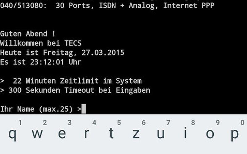 Скриншот 1 программы ConnectBot