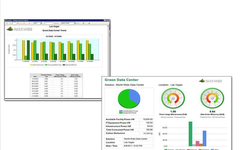 Скриншот 1 программы Rackwise DCiM X